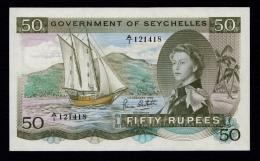 Seychelles 50 Rupees 1972 UNC - Seychelles