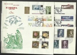 1974 Malta ANNATA  YEAR 5 Serie Su 6 FDC: 483/99+A2/8 - Malta