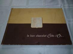 CB2LC153  Livret Publicitaire Le Bon Chocolat Côte D'Or - 1960 - Nombreuses Photos Fabrication - Livres, BD, Revues