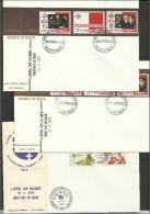 1975 Malta 3 FDC: 500/02 (x2) + 503/06 - Malta