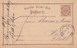 DR Ganzsache Minr.P2 Nachv. Stempel Meiningen 12.3.74 - Deutschland