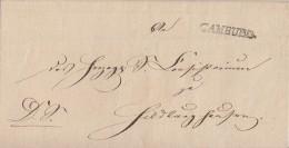 Thurn & Taxis Brief L1 Camburg (ca.1839) Nach Hildburghausen - Thurn Und Taxis