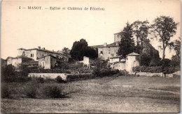 16 MANOT - église Et Château De Fénelon - Otros Municipios