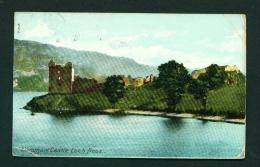 SCOTLAND  -  Urquhart Castle  Used Vintage Postcard As Scans - Inverness-shire
