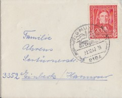 Bund Brief EF Minr.119 Gmünd 22.12.52 - Cartas