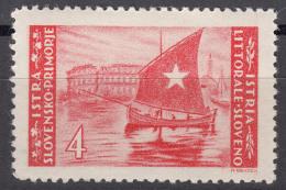 Istria Litorale Yugoslavia Occupation, 1946 Sassone#56 Mint Hinged
