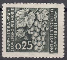 Istria Litorale Yugoslavia Occupation, 1946 Sassone#51 Mint Hinged