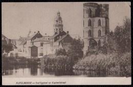 RUPELMONDE - OUD KASTEEL EN KASTEELSTRAAT -- Niet Courante éditie - België