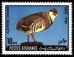 Afghanistan 1972. ** MNH. Bird Oiseau Vogel. Chukar Partridge - Ohne Zuordnung