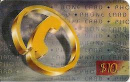 CARTE*-PREPAYEE-10$-USA-CCI COMMUNICATION-Plastic- FIN-GRATTE- TBE - Vereinigte Staaten