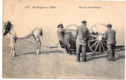 BOULOGNE SUR MER - Barque De Sauvetage - Boulogne Sur Mer