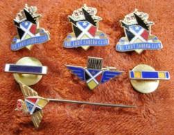 T15 / Lot De Rare Pin's Ou épinglette  - The Lady Sabena Club - Broche - Obj. 'Souvenir De'