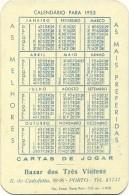 Portuguese 1953 Calendar - Bazar Dos Três Vintens - Porto - Calendriers