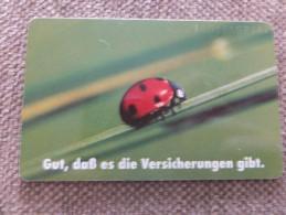 Germany, Deutschland, 5 Telefonkarten, 5 Phonecards, Stuttgarter Versicherung, HUK Kinderversicherung, Used - Advertising