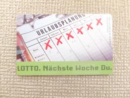 Germany, Deutschland, Telefonkarte, Phonecard, Lotto, Used - Jeux