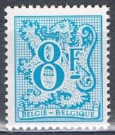 Année 1983 - COB   2091** Chiffre Sur Lion Héraldique - Gomme Bleue  - Cote 0,60 € - Belgique