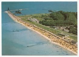 Nordseeheilbad Cuxhaven-Döse - Strand Und Kugelbake - Luftaufnahme, Gelaufen 1985 - Cuxhaven