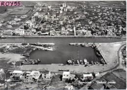 Lazio-fiumicino Veduta Aerea Panoramica Di Fiumicino Anni/50 - Fiumicino