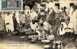 SOUDAN Français BAMAKO-KATI Un Coin Du Marché    Très Animée - Sudan
