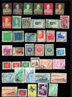 1953 - 1970  115 Timbres Commémoratifs  Oblitérés - 1945-... République De Chine
