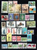 1970 - 1992   80  Timbres Commémoratifs  Oblitérés - 1945-... Repubblica Di Cina