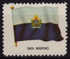 San Marino / Cinderella Label Vignette - MNH / USA Ed. 1965. - San Marino