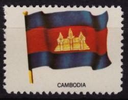Cambodia Kampuchea / Cinderella Label Vignette - MNH / USA Ed. 1965. - Cambodia