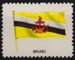Brunei / Cinderella Label Vignette - MNH / USA Ed. 1965. - Brunei (1984-...)