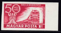 HUNGARY Trains Railway MNH** CV 7,5€ IMP Marginal - Treni