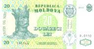 Moldova, 20 Lei 2010, P-13, UNC - Moldavie