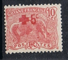 GUYANE N°74 N* - Guyane Française (1886-1949)