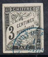COLONIES GENERALES TAXE N°4  Oblitération De Fort De France (Martinique) - Postage Due