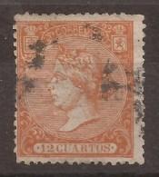 1866 Isabel II Edifil 82(*) Matasello V.Catalogo 17,50€ - 1850-68 Reino: Isabel II
