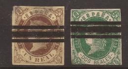 1862 Isabel II Edifil 61/2 Barrado VC 18,00€ - Nuevos