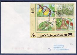 """UN Wien 1996, FDC Cover """"Endangered Species"""" W./special Postmark """"Wien"""", Ref.bbzg - FDC"""