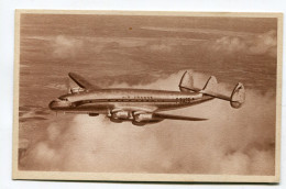 CPA  Aviation  :  Lockheed Constellation Chez Air France   A  VOIR  !!! - 1946-....: Moderne