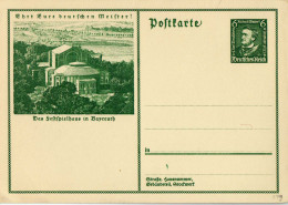 Drittes Reich 1933 Ganzsache Mi P 249, Wagner [130713KI] @ - Germany