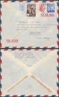 AA910 Lettre De Bruxelles à Johannesburg Sout Africa 1955 - Belgien