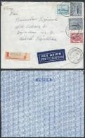 AA913 Devant De Lettre Recommandée De Hollogne Aux Pierrres à Zapadni Tchécoslovaquie 1946 - Belgique