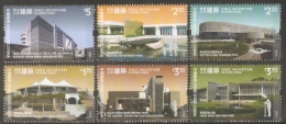2016 Hong Kong Public ARCHITECTURE STAMP 6V - Unused Stamps