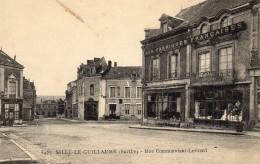CPA SILLE LE GUILLAUME 72 Rue Commandant Levrard - Sille Le Guillaume