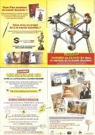 BD - Flyer-Dépliant Sandawe : Concours 2014 - Ill.Le Chat, Titeuf, Spirou, Astérix, Batman, Dragon Ball, Schtroumpf... - Books, Magazines, Comics