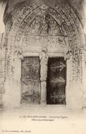 CPA SILLE LE GUILLAUME 72 Portail De L'Eglise (Monument Historique) - Sille Le Guillaume