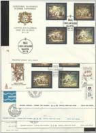 1979 Malta ANNATA  YEAR 5 SERIE SU 6 FDC : 573/76+583/584+585/87+588 /9+592/95 - Malta