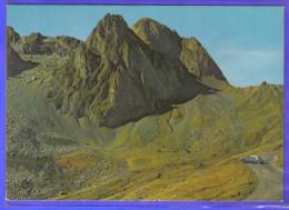 Carte Postale 65. La Mongie Route Du Tourmalet  DS Citroën Trés Beau Plan - Autres Communes