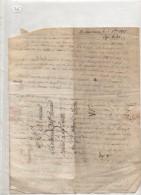Lettre Du 15 Decembre 1817 De Annonay - Marcofilia (sobres)