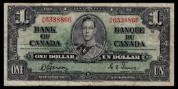 Canada 1 Dollar 1937 P.58d F - Canada