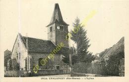 52. CHALANCEY . L'église . - Francia