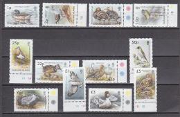 Falkland Islands 2003 Definitives / Birds 12v ** Mnh (29118) - Falklandeilanden