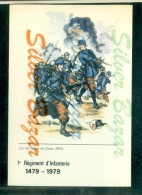 MILITARI - UNIFORMI -REGGIMENTI - 1° REGIMENT D´INFANTERIE - FANTERIA -SUR LES CRETES DE GUISE - Tiro (armi)